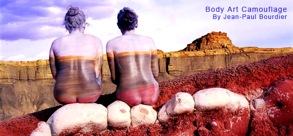 Body Art Camouflage By Jean-Paul Bourdier