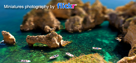 Miniatures photography by Flickr