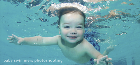 Baby swimmers – Underwater photography