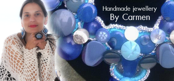 Handmade jewellery By Carmen Popa