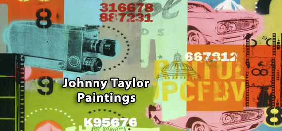 Johnny Taylor - Paintings