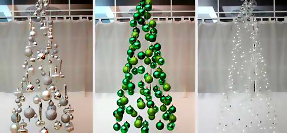 Πρωτότυπα Χριστουγεννιάτικα δέντρα